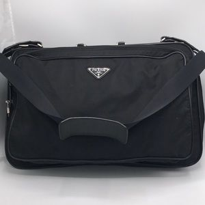 Authentic Prada Large Business Travel Bag w/ Strap